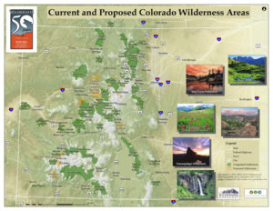 Current and Proposed Colorado Wilderness Areas