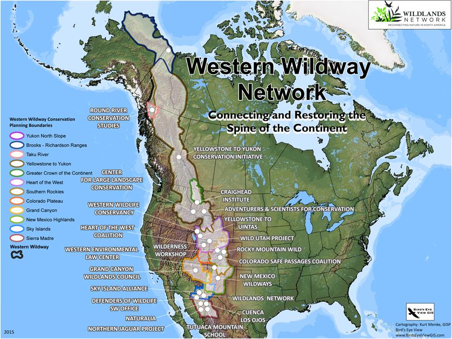 Western Wildway Partner Map