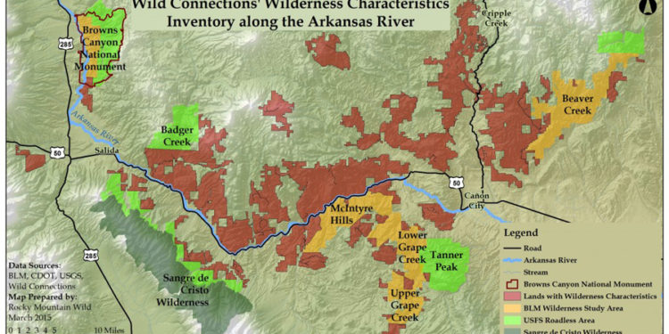 Wild Connections: Mapping Potential Wilderness Areas