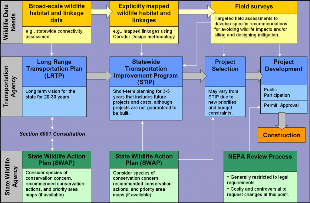 State Wildlife Action Plans and the transportation planning process