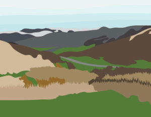 Wolf Creek Pass Illustration