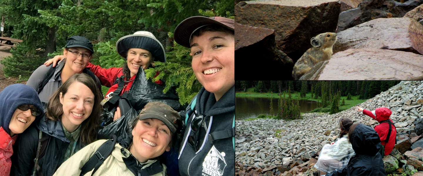 100 Women for the Wild Pika Field Day