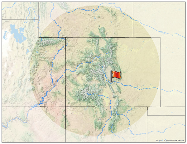 Arkansas River Corridor ACEC Rocky Mountain Wild - Arkansas river map