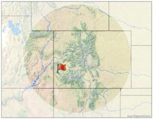 Dry Creek Basin Map