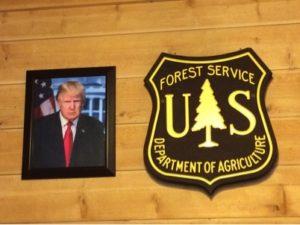Trump Plaque