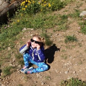 Paul's Daughter with Eclipse Glasses