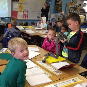2nd Grade Scientists at Red Rocks Elementary