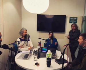 Recording lynx segment of Wild I-70 audio tour
