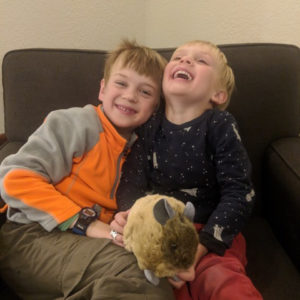 Henry & Arlo are Pika Eep!le