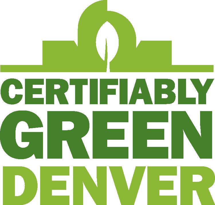 Certifiably Green Denver logo
