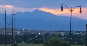 Sunset Longs Peak