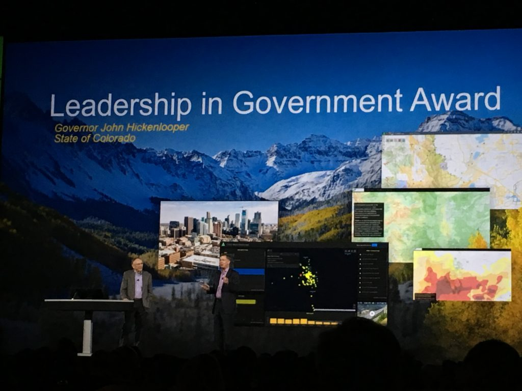 Leadership in Government Award
