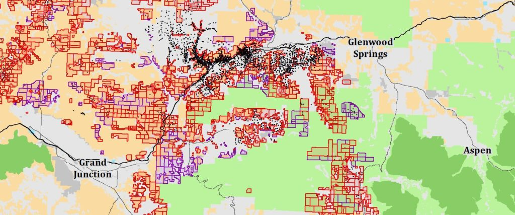 GIS Services Map Example