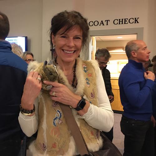 A new pika parent at Banff 2019