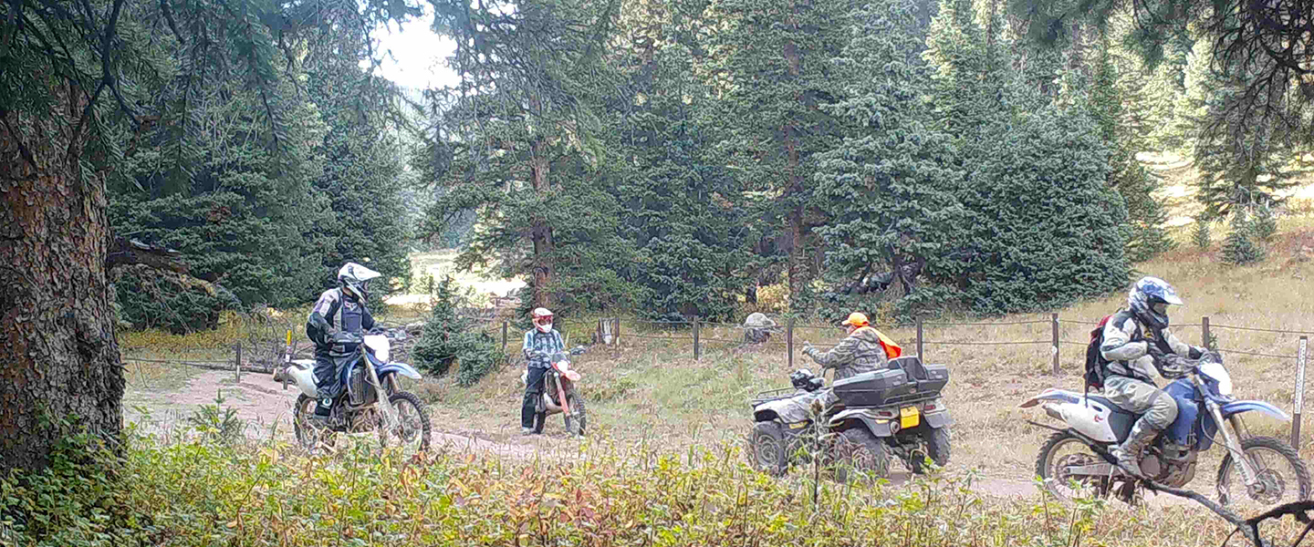 Comment on Motorized Use on Public Lands in Central Colorado
