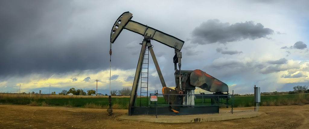 Oil rig in Weld County, courtesy of CL Baker (CC BY-ND 2.0)