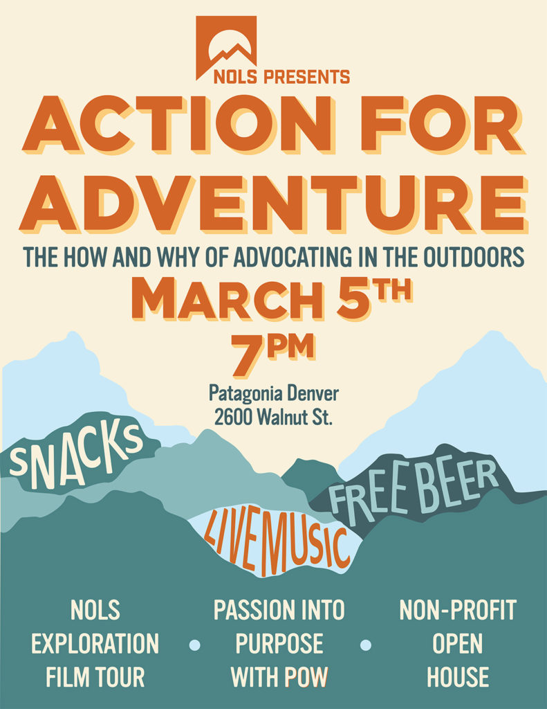 Action for Adventure: The How and Why of Advocating in the Outdoors poster