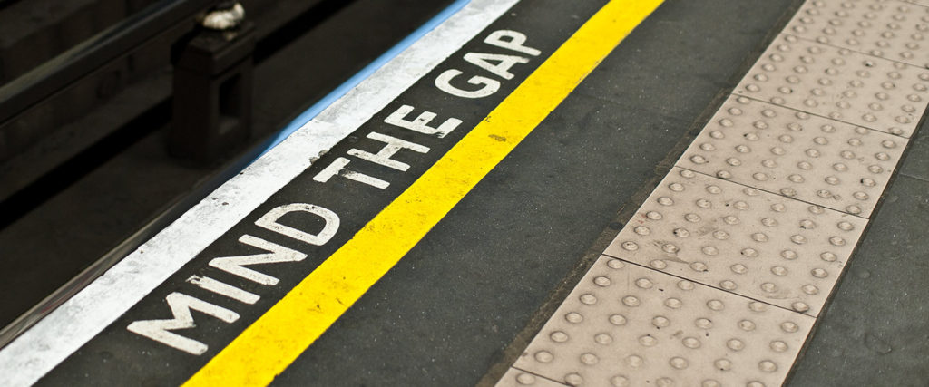 Photograph: Mind the Gap, courtesy of Jorge Gonzalez (CC BY-SA 2.0)