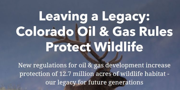 Oil & Gas Rules Protect Wildlife Story Map