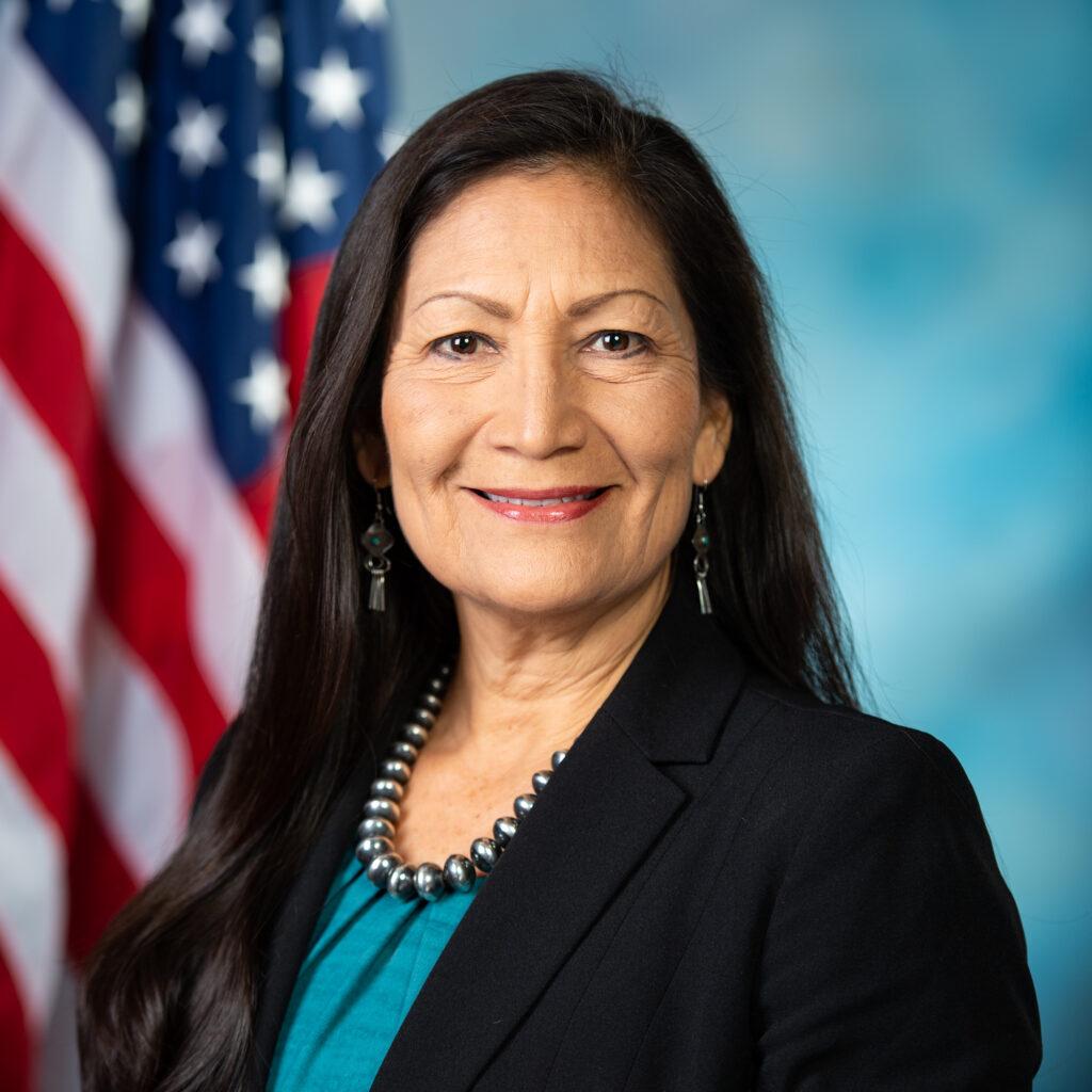 Portrait of Secretary Deb Haaland