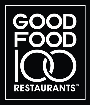 Good Food 100 Logo